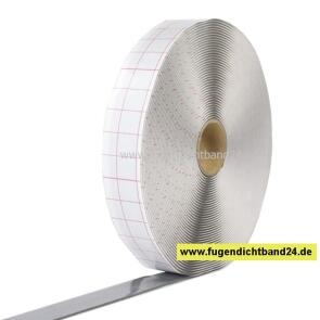 Butylband 2mm x 15mm - grau - 18m Rolle