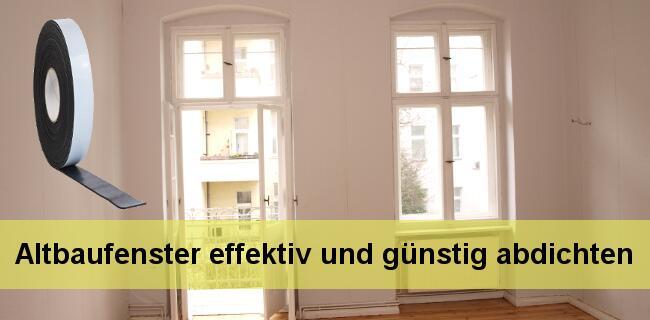 Alte Fenster Abdichten : alte fenster preiswert abdichten bei fugendichtband24 ~ Watch28wear.com Haus und Dekorationen