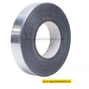 Aluminiumklebeband aus 99% Alu - 25m Rolle - 80mm Breite - 0,1mm stark