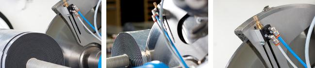 Unsere Präzisions-Schneidemaschine schneidet Sondermaße bei Neopren Zellkautschuk